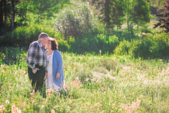 never too late (KieraJo) Tags: 100mm 28 canonef100mmf28macrousm bokeh canon 5d mark 3 iii 5d3 fullframe dslr macro lens used normal logan canyon tony grove pines utah cache valley beautiful older couple engagement photos poses cute love foreheads