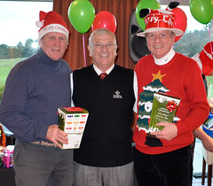 021 - Turkey Trot Winners with 45pts - Andrew Corfield & Neville Wootton (Neville Wootton Photography) Tags: golf winners turkeytrots frankblake stmelliongolfclub nevillewootton nikoncoolpixa andrewcorfield 2015golfseason captainsdriveins