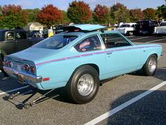 1972 Chevy Vega GT (splattergraphics) Tags: chevy 1972 vega customcar tubbed cruisenight vegagt glenburniemd lostinthe50s marleystationmall v8vega