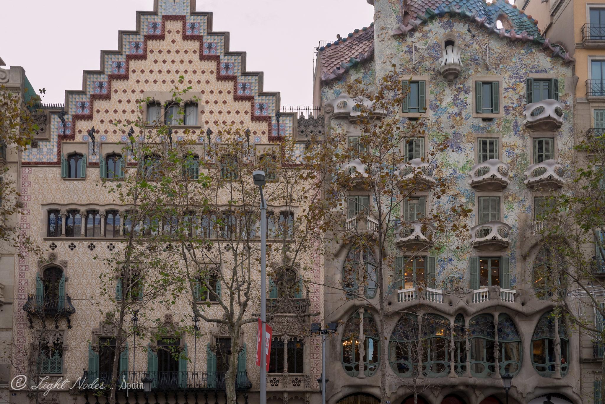 Casa Batlló (Antoni Gaudi's masterpiece) Barcelona, Spain with DMC GX7