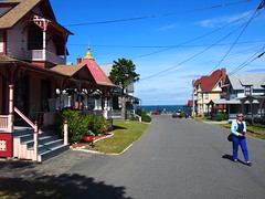 The streets on The island.