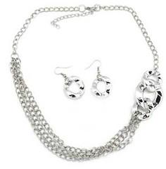 5th Avenue Silver Necklace K1 P2210-4 (2)