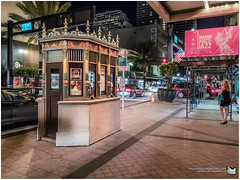 Olympia theater ticket booth (MigRodzphotos) Tags: night theater traffic florida miami olympia handheld fujifilm stores x30 walkaround ticketbooth onfoot iso1000