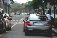 Mercedes-Benz C 63 AMG (Justin Young Photography) Tags: cars philippines mercedesbenz audi v10 amg r8 c63