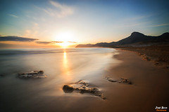 Atardecer en Calblanque (Legi.) Tags: longexposure seascape landscape atardecer nikon cartagena largaexposición d600 calblanque