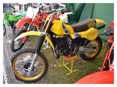 SUZUKI RM 465 Cross (baffalie) Tags: old milan classic bike vintage italia expo retro motorbike moto italie ancienne fiera classicas
