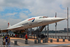 Concorde / Intrepid,  NY / July 2013 (Timo Sutinen) Tags: concorde intrepid airliner supersonic