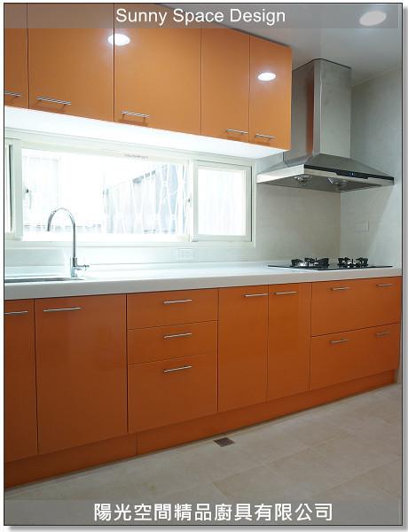 廚具大王-作品238-中和景新街蘇小姐一字型廚具-陽光空間精品廚具