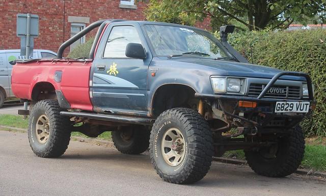 4x4 pickup toyota 1989 hilux 24d farmercarlisle