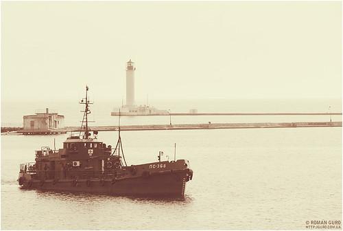 Одесса. Морской вокзал | Odessa. Seaport