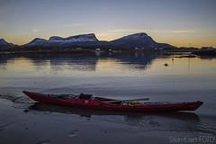 IMG_9973 1100 (Stnevert) Tags: sunset landscape kayak paddling kajakk padling efjord