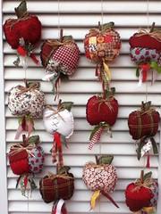 mbile de mas (Criao Exclusiva da Ane) Tags: vermelho patchwork cozinha mas mbile retalhos