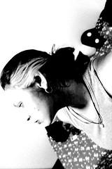 bw (TheJennire) Tags: camera light portrait people blackandwhite luz me face self canon dark hair photography photo foto 365 fotografia camara cabelo pelo cabello 365days