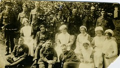 Shotley Bridge Hospital Patients and Staff 1914 (Stuart Axe) Tags: royallancasterregiment kingsownroyallancasterregiment lancecorporalrobertrogers hospital 1914 consett countydurham gb england uk robertrogers shotleybridge shotleybridgehospital matron nurse nurses history historical historic thegreatwar worldwarone firstworldwar 1stbattalion derwentshire military militaryhospital kingsownroyalregimentlancaster somme battleofthesomme grandfather greatgrandfather genealogy centenary unitedkingdom greatbritain