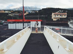 volcano view from the crosswalk (Alexey Tyudelekov) Tags: islands tenerife canary lanzerote