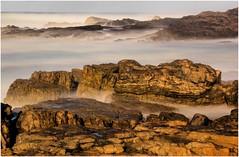 Rocks at Granville Harbour (Trains In Tasmania) Tags: longexposure sea seascape rocks australia scene tasmania westcoast bwnd30 granvilleharbour bw30nd canoneos550d trainsintasmania tasmanianscenary stevebromley tasmaniancoastalscenary