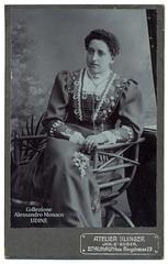 Lady by Klinger - Braunau am Inn (spadon75) Tags: cdv klinger braunauaminn