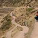 Peruanas em visita as ruínas