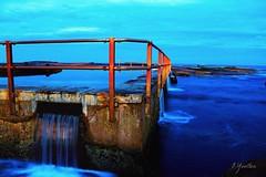 Rust.. (oscaryoulten) Tags: ocean longexposure sunset sea seascape color colour beach pool photography evening rust dusk sydney australia curly beaches longshutter shutterspeed northernbeaches oceanpool curlcurl northcurlcurl oceanscape sydneysnorthernbeaches
