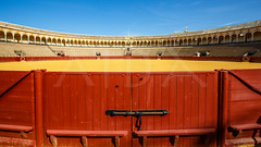 Plaza de toros de la Real Maestranza de Caballera de Sevilla (aida_dasilva) Tags: bull seville toro bullring killingfield plazadetorosdelarealmaestranzadecaballeradesevilla