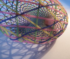 Dupin Cyclide 3D printed (fdecomite) Tags: color circle print 3d model math torus inversion mathematical dupin cyclide villarceau shapeways yvonvillarceau