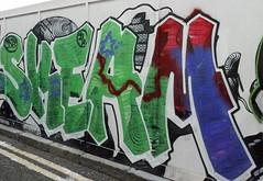 Skeam (cocabeenslinky) Tags: street city uk november england urban streetart london art writing lumix photography graffiti paint artist photos united capital letters kingdom can spray east panasonic graff eastend artiste 2014 skeam dmcg6 cocabeenslinky