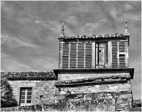 4107-Horreo en Mens (Malpica) Coruña.
