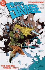 Doc Savage 3 (FranMoff) Tags: snow hole blonde comicbooks docsavage discord