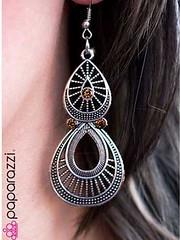 5th Avenue Brown Earrings K1 P5310-2