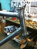 Head tube all brazed up (Bantam Bicycle Works) Tags: bike bicycle repair frame homer works bantam hilsen rivendell lugs lugged