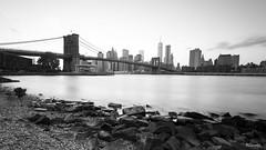Puente de Brooklyn previo al atardecer - Manhattan - New York (DGrimaldi) Tags: nyc newyork byn blancoynegro brooklyn canon atardecer manhattan wb lee brooklynbridge lowermanhattan estadosunidos nuevayork grimaldi whiteandblack eeuu polarizador ef1740mmf4lusm mainstreetpark puentebrooklyn 5dmarkiii filtroslee dgrimaldi 5dmiii davidgrimaldi
