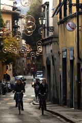 Florencia 2 (-Luisfer-) Tags: street navidad luces florence bicicleta round florencia rueda iluminacion adornos luisfer luisferfoto