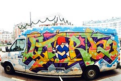 Truckin' 2014 (QTurbo'79) Tags: cars graffiti paint letters hiphop lettering van raps aerosolart trucking spraycanart mvp pimpmobile nsa 2014 amsterdamgraffiti mostvaluableplayers dutchgraffiti xn3k raps79 nonstopactioncrew mostvaluablepainters qturbo79
