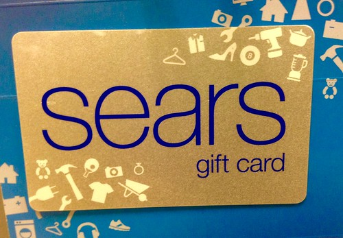 sears giftcard
