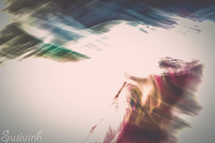 Motioned Sara (susivinh) Tags: motion blur action getpushed