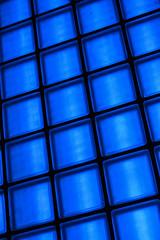 Blue Glass Blocks