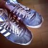 Hoy mis viejas #adidas cumplen 2 años y me parece que ha llegado el momento de jubilarlas.   #gazelle #ilovemyadidas #adiporn #sneakers #footwear #originals #3stripes #threestripes #gazelleog #adidasoriginals