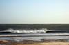 Sea on a windy day (DavidWF2009) Tags: sea spray northumberland blowingsand