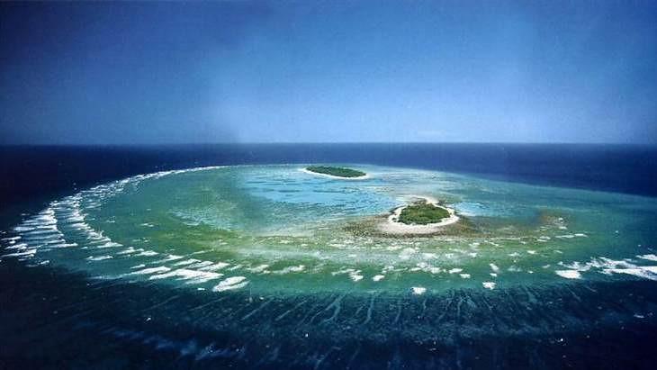 Rạn san hô Great barrier Reef, Australia