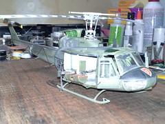 20140803_212202 (anvil06) Tags: model huey kit 148 italeri uh1h
