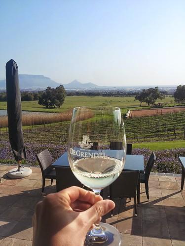 Dégustation de vin, Cape Town, Afrique du Sud