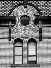 Spirit (Explore May 4th 2016) (Don Henderson) Tags: urban building brick stone architecture circle spirit keystone punxsutawney