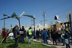 DSC00794 (Break Free Midwest) Tags: march midwest break protest free 350 bp whiting breakfree 350org breakfree2016