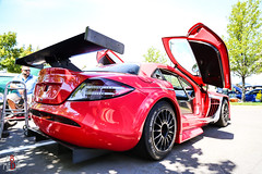 Talk about rare! (M85 Media - Ryan Small) Tags: pink slr car race mercedes benz birmingham michigan troy mclaren amg