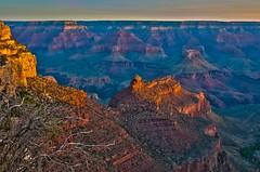 Sunrise at Grand Canyon (danielacon15) Tags: arizona usa sunrise landscape outdoors nationalpark grandcanyon south erosion geology rim americansouthwest