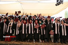 Birzeit University students raise their diploma during their graduation ceremony (TeamPalestina) Tags: heritage photo education photographer natural live palestine westbank ramallah innocent freepalestine photooftheday picoftheday palestinian occupation  issamalrimawi