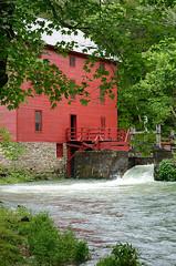 Alley Spring Mill (frank thompson photos) Tags: mill water missouri alleyspringnpmo