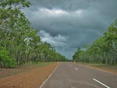 Heading Into It (shaneblackfnq) Tags: storm wet rain season highway nt top arnhem australia end tropical outback kakadu northern tropics territory shaneblack