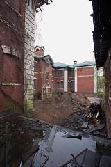 Essex County Overbrook Hospital (EsseXploreR) Tags: county new abandoned hospital grove nj cedar jersey essex overbrook abandonednj