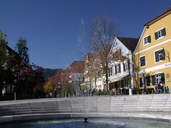 Hauptplatz, Frohnleiten, Austria (Norbert Bnhidi) Tags: fountain austria oostenrijk sterreich ausztria steiermark autriche styria frohnleiten  stiria estiria ustria estria styrie stjerorszg stiermarken